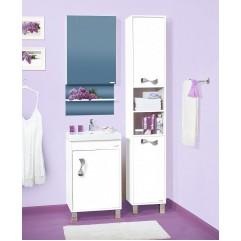 Комплект мебели для ванной Бриклаер Аргентина 50 белый