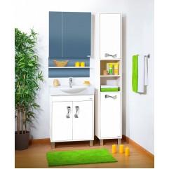Комплект мебели для ванной Бриклаер Аргентина 65 белый
