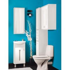 Комплект мебели для ванной Бриклаер Бали 40 светлая лиственница