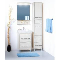 Комплект мебели для ванной Бриклаер Чили 55 светлая лиственница