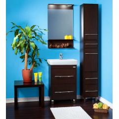 Комплект мебели для ванной Бриклаер Чили 55 венге