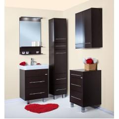 Комплект мебели для ванной Бриклаер Чили 60 венге