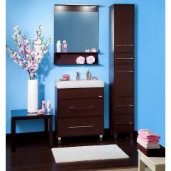 Комплект мебели для ванной Бриклаер Чили 70 венге