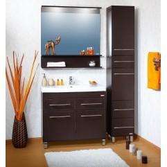 Комплект мебели для ванной Бриклаер Чили 90 венге