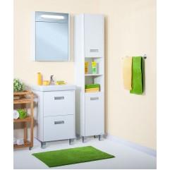 Комплект мебели для ванной Бриклаер Палермо 55 белый