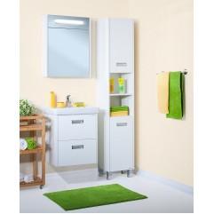 Комплект мебели для ванной Бриклаер Палермо 55 подвесной белый
