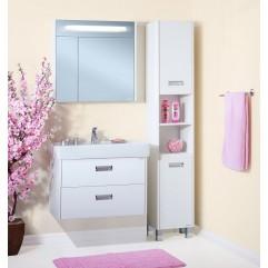 Комплект мебели для ванной Бриклаер Палермо 80 подвесной белый