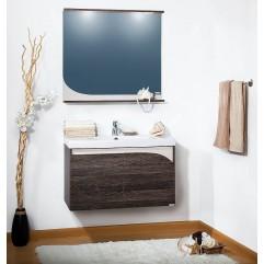 Комплект мебели для ванной Бриклаер Севилья 90 венге мали/песок
