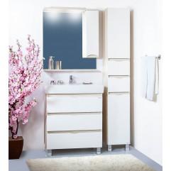 Комплект мебели для ванной Бриклаер Токио 80 светлая лиственница