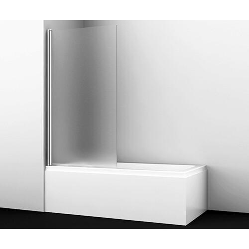 Berkel 48P01-80L Matt glass Стеклянная шторка на ванну