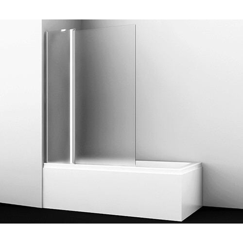 Berkel 48P02-110L Matt glass Fixed Стеклянная шторка на ванну
