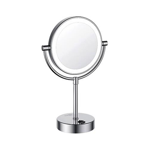 K-1005 Зеркало с LED-подсветкой двухстороннее, стандартное и с 3-х кратным увеличением