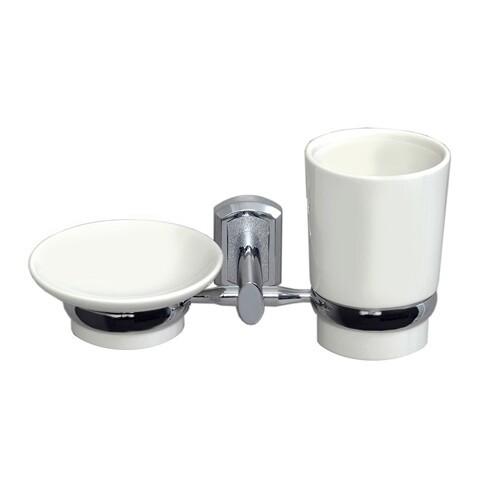 K-28126 Держатель стакана и мыльницы