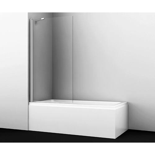 Berkel 48P01-80 Fixed Стеклянная шторка на ванну