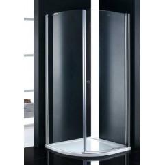 Душевой уголок Cezares прозрачное стекло 90x90x195см ELENA-W-R-1-90-C-Cr-L