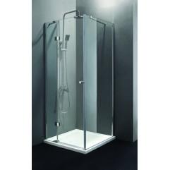 Душевой уголок 90x90 прозрачное стекло CEZARES VERONA-A-1-90-C-Cr