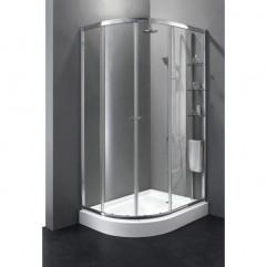 Душевой уголок Cezares Anima 120x90 см прозрачное стекло ANIMA-RH-2-120/90-C-Cr-R
