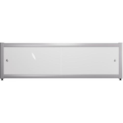 Экран под ванну раздвижной 150 см белый
