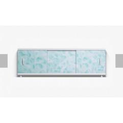 Экран под ванну раздвижной 150 см Alavann Оптима зеленый