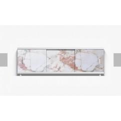 Экран под ванну раздвижной 150 см Alavann Оптима бежевый камень