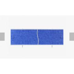 Экран под ванну раздвижной 150 см Alavann Премьер синий