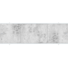Экран под ванну раздвижной 170 см Метакам Премиум А ФШ серый