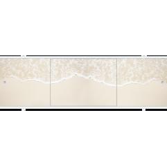 Экран под ванну раздвижной 170 см Метакам Премиум ПБ прилив