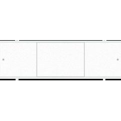 Экран под ванну раздвижной 170 см Метакам Премиум А белый лед