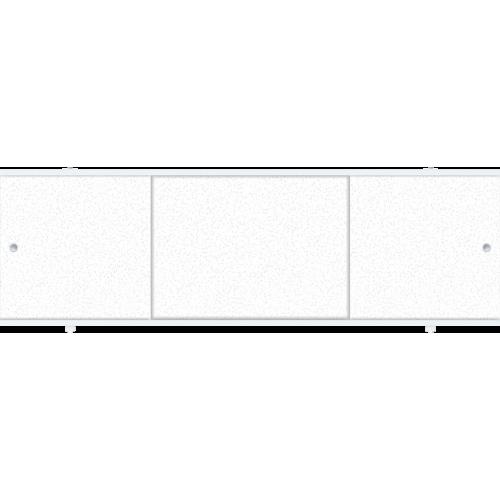 Экран под ванну раздвижной 150 см Метакам Премиум А белый лед