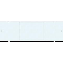 Экран под ванну раздвижной 170 см Метакам Премиум А голубая лоза