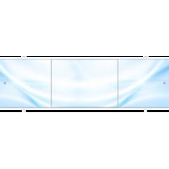 Экран под ванну раздвижной 150 см Метакам Премиум А голубой