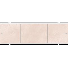Экран под ванну раздвижной 170 см Метакам Премиум А коричневый