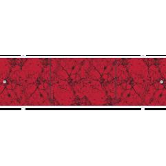 Экран под ванну раздвижной 170 см Метакам Премиум А красный аметист