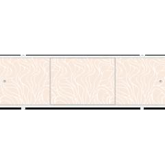 Экран под ванну раздвижной 170 см Метакам Премиум А кремовый