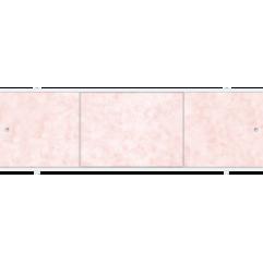 Экран под ванну раздвижной 170 см Метакам Премиум А розовые облака