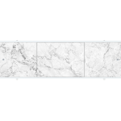 Экран под ванну раздвижной 150 см Метакам Премиум А серый
