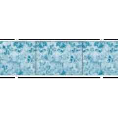 Экран под ванну раздвижной 170 см Метакам Премиум А синий