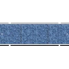 Экран под ванну раздвижной 170 см Метакам Премиум А синий сапфир