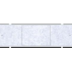 Экран под ванну раздвижной 150 см Метакам Премиум А сиреневые облака