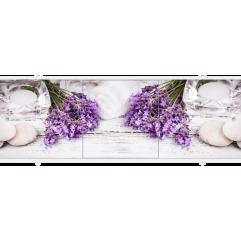 Экран под ванну раздвижной 170 см Метакам Премиум АРТ лаванда