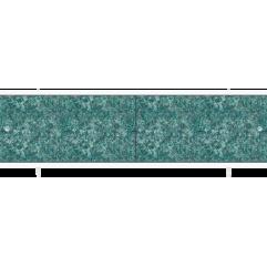 Экран под ванну раздвижной 150 см Метакам Кварт зеленая елочка