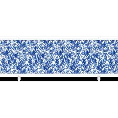 Экран под ванну раздвижной 170 см  Метакам Кварт синий индиго