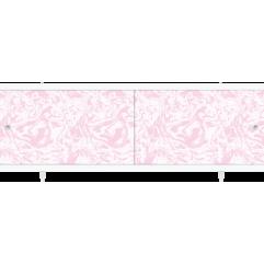 Экран под ванну раздвижной 170 см Метакам Кварт розовый мрамор