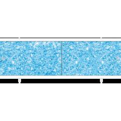 Экран под ванну раздвижной 170 см Метакам Кварт синий топаз