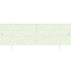 Экран под ванну раздвижной 170 см Метакам Кварт зеленый иней