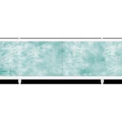Экран под ванну раздвижной 150 см Метакам Кварт зеленый изумруд