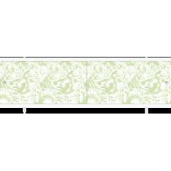 Экран под ванну раздвижной 170 см Метакам Кварт зеленый мрамор