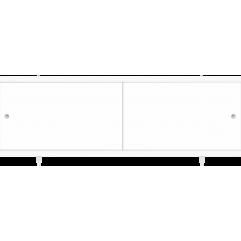 Экран под ванну раздвижной 150 см Метакам Ультралегкий белый
