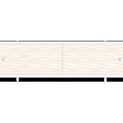 Экран под ванну раздвижной 170 см Метакам Ультралегкий песочный