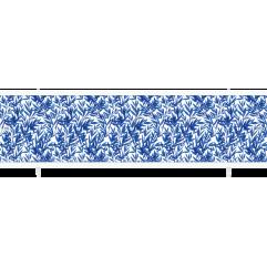 Экран под ванну раздвижной 170 см Метакам Ультралегкий синий индиго